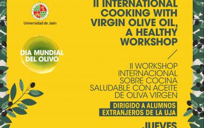 II WORKSHOP Internacional sobre cocina saludable con Aceite de Oliva Virgen