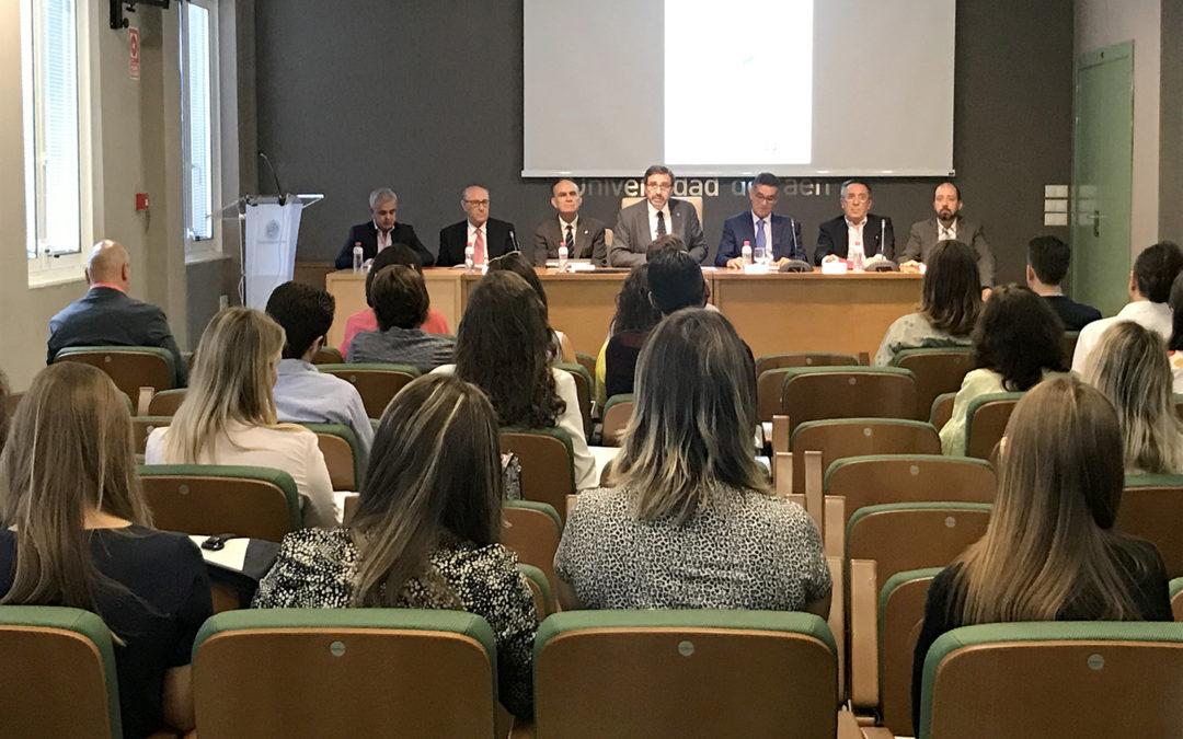 Inauguración de la 17ª edición del Título de Experto en Cata de Aceites de Oliva Vírgenes